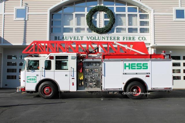 The HESS Truck's Back! - Blauvelt Fire Company